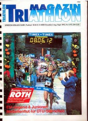 Jos beim Ironman Roth 1992